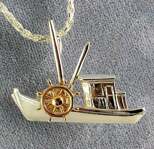 CJSSBuyboat with Shipswheel (Custom) (3)
