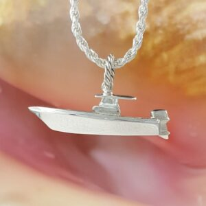 SS Center Console fishing boat Pendant