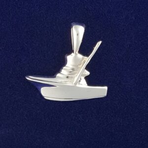 SS Mini Sport Fishing boat Pendant