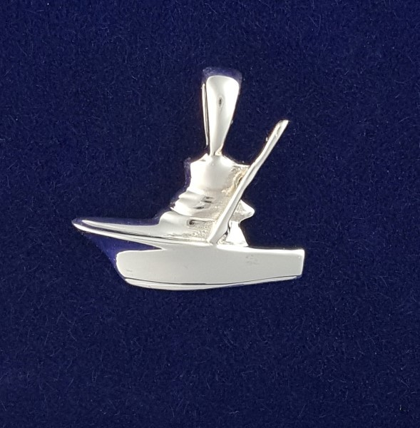 SS Mini Sport Fishing boat Pendant